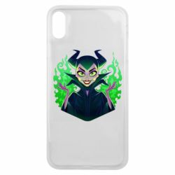 Чехол для iPhone Xs Max Evil Maleficent