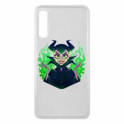 Чехол для Samsung A7 2018 Evil Maleficent