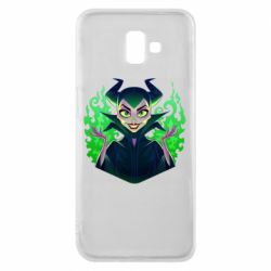 Чехол для Samsung J6 Plus 2018 Evil Maleficent