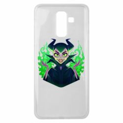 Чехол для Samsung J8 2018 Evil Maleficent