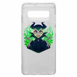Чехол для Samsung S10+ Evil Maleficent