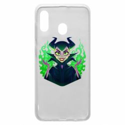 Чехол для Samsung A20 Evil Maleficent
