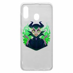 Чехол для Samsung A30 Evil Maleficent