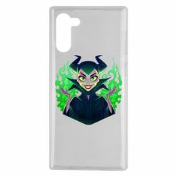 Чехол для Samsung Note 10 Evil Maleficent