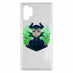 Чехол для Samsung Note 10 Plus Evil Maleficent