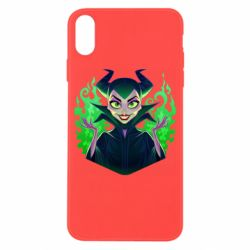 Чехол для iPhone X/Xs Evil Maleficent