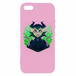 Чехол для iPhone5/5S/SE Evil Maleficent