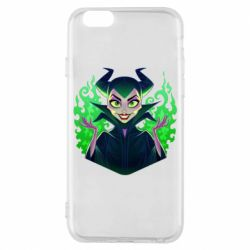 Чехол для iPhone 6/6S Evil Maleficent