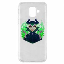 Чехол для Samsung A6 2018 Evil Maleficent