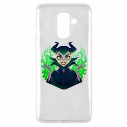 Чехол для Samsung A6+ 2018 Evil Maleficent