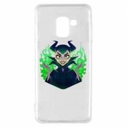 Чехол для Samsung A8 2018 Evil Maleficent