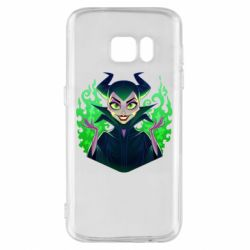 Чехол для Samsung S7 Evil Maleficent