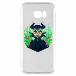 Чехол для Samsung S7 EDGE Evil Maleficent
