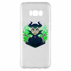 Чехол для Samsung S8+ Evil Maleficent