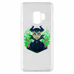 Чехол для Samsung S9 Evil Maleficent