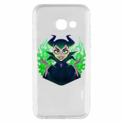 Чехол для Samsung A3 2017 Evil Maleficent
