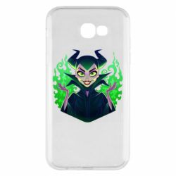 Чехол для Samsung A7 2017 Evil Maleficent