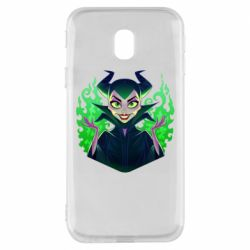 Чехол для Samsung J3 2017 Evil Maleficent