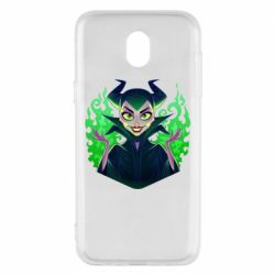 Чехол для Samsung J5 2017 Evil Maleficent