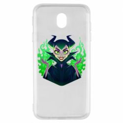 Чехол для Samsung J7 2017 Evil Maleficent