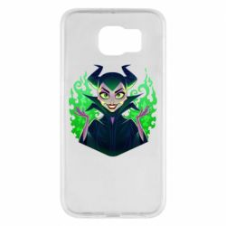 Чехол для Samsung S6 Evil Maleficent