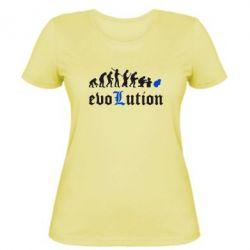 Женская футболка Evolution Death Note