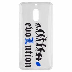 Чехол для Nokia 6 Evolution Death Note - FatLine