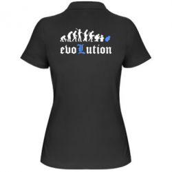 Женская футболка поло Evolution Death Note