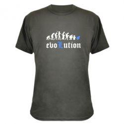 Камуфляжная футболка Evolution Death Note - FatLine
