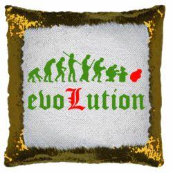 Подушка-хамелеон Evolution Death Note