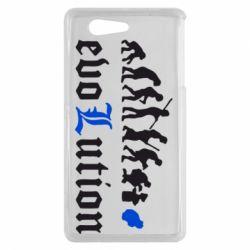 Чехол для Sony Xperia Z3 mini Evolution Death Note - FatLine