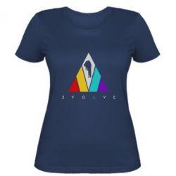 Жіноча футболка Evolve logo