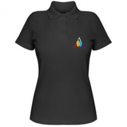 Жіноча футболка поло Evolve logo