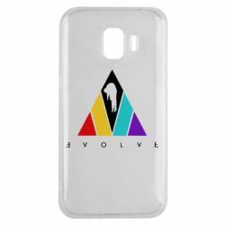 Чохол для Samsung J2 2018 Evolve logo