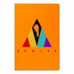 Блокнот А5 Evolve logo