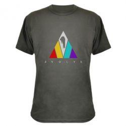 Камуфляжна футболка Evolve logo
