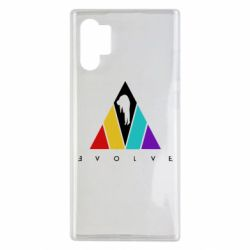 Чехол для Samsung Note 10 Plus Evolve logo