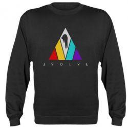 Реглан (світшот) Evolve logo