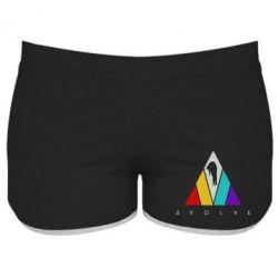 Жіночі шорти Evolve logo