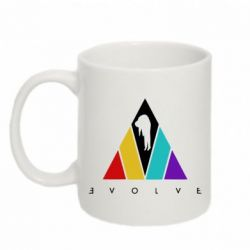 Кружка 320ml Evolve logo