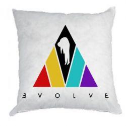 Подушка Evolve logo