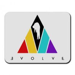 Килимок для миші Evolve logo
