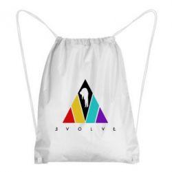 Рюкзак-мішок Evolve logo