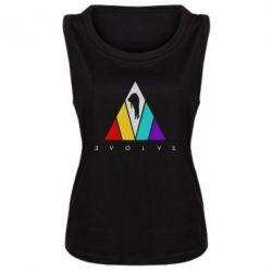 Майка жіноча Evolve logo