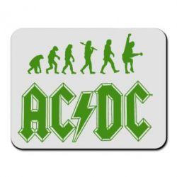 Коврик для мыши Эволюция AC\DC - FatLine