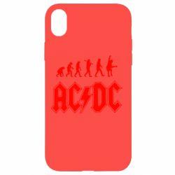 Чохол для iPhone XR Еволюція AC\DC