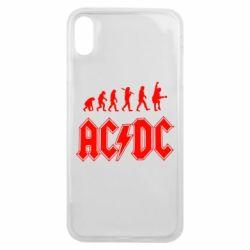 Чохол для iPhone Xs Max Еволюція AC\DC