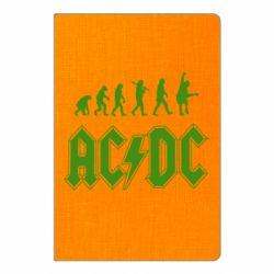 Блокнот А5 Еволюція AC\DC