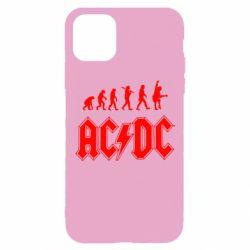 Чохол для iPhone 11 Pro Еволюція AC\DC