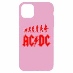 Чохол для iPhone 11 Pro Max Еволюція AC\DC